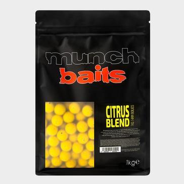 Yellow Munch Baits Citrus Blend Boilies 14mm 1kg