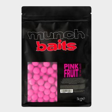 Pink Munch Baits Pnk Fruit Boilies 14mm 1kg