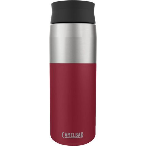 Silver Drinks Bottle Camelbak Water Bottle Peak Fitness 0.75L Black