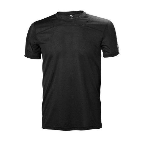 9048a4c2b845b Black Helly Hansen Men s HH Lifa T-Shirt ...