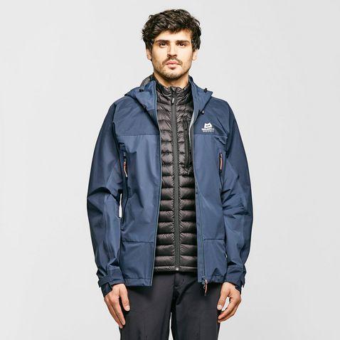 8396f187 BLUE NIGHT MOUNTAIN EQUIPMENT Men's Saltoro GORE-TEX Waterproof Jacket