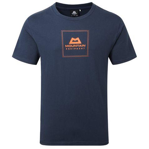 7e0303d34 Dark Blue MOUNTAIN EQUIPMENT Men s Square Logo Tee ...