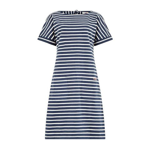 9bcb74a6a39 Dark Navy WEIRD FISH Women's Etta Striped Jersey Dress ...