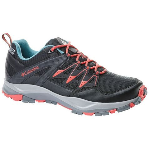 bb1336ebd30d4 BLACK-CORAL Columbia Women s Wayfinder™ OutDry™ Walking Shoe. Quick buy