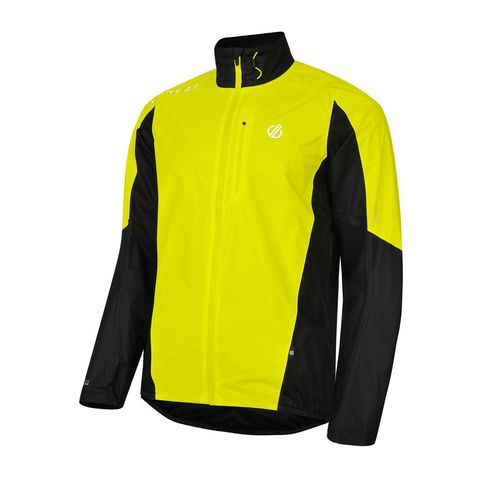c5fdb7c0a19a7d FLUO YELL-BLK DARE 2B Men's Mediant Waterproof Cycling Jacket ...