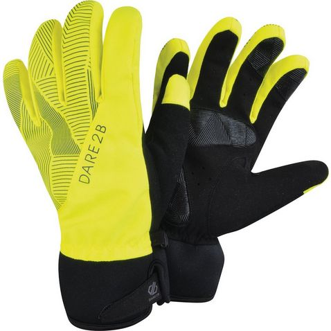 3237376e8de Fluo Yellow DARE 2B Lightsome Cycle Glove (Unisex)