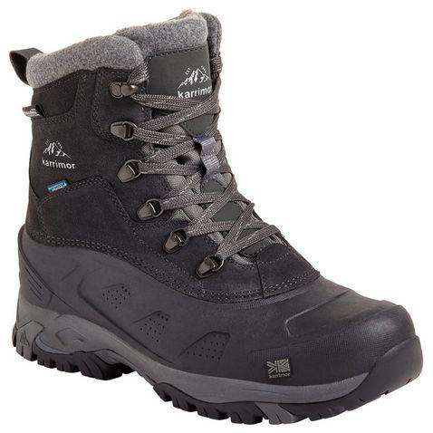 f38433d5ee77 Black KARRIMOR Men's Snowfur WT 3 Boots ...