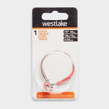 Orange Westlake 1 Hook Treble Snap Tackle (Size 6)