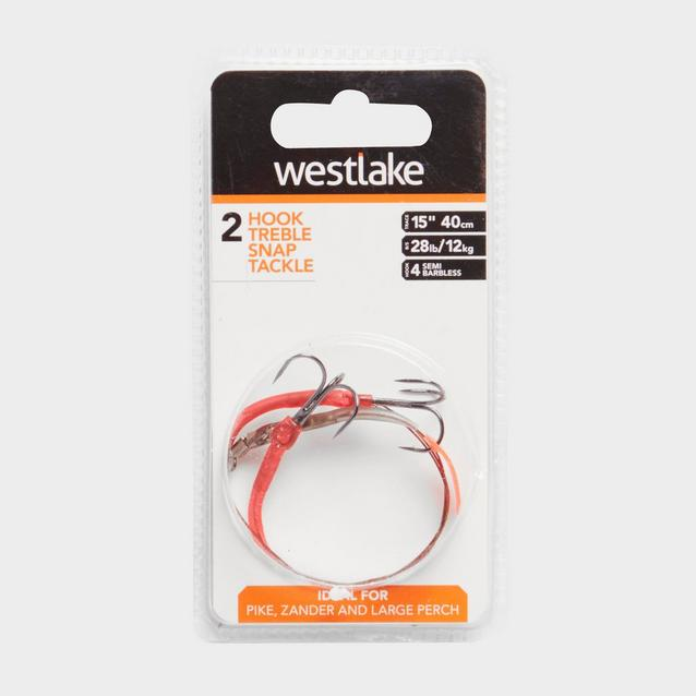 Orange Westlake Pike Trace Sz 4 Semi Barbed image 1