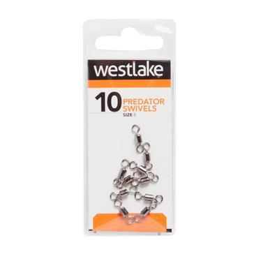 Silver Westlake Predator Swivel Size 8