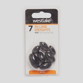 Black Inline Weights Mixed