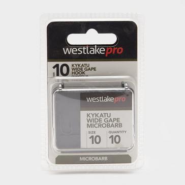 Black Westlake Kykatu Wide Gape Micro-Barbed Size 10