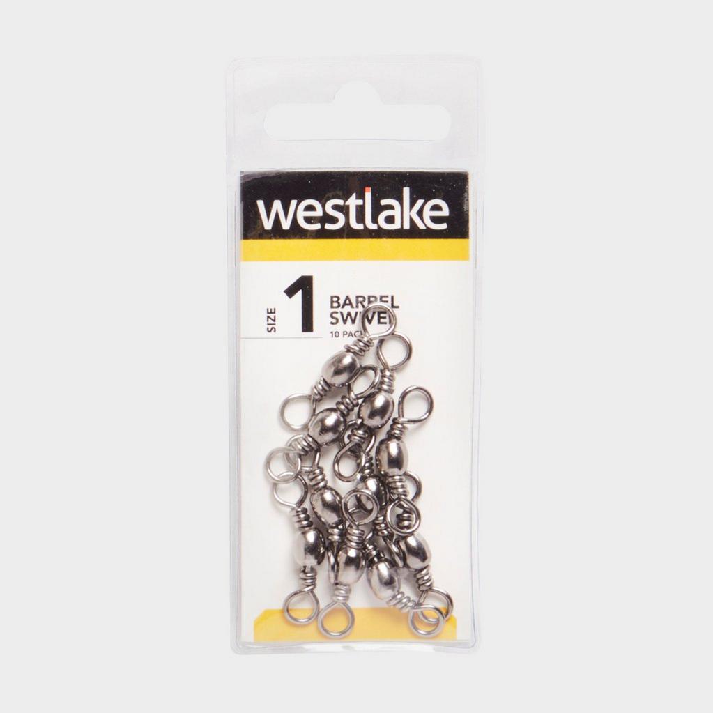 Silver Westlake Barrel Swivel (Size 1) image 1
