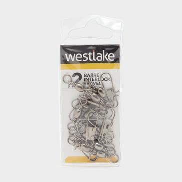 Silver Westlake Barrel Interlock Size 2 (10 Pack)