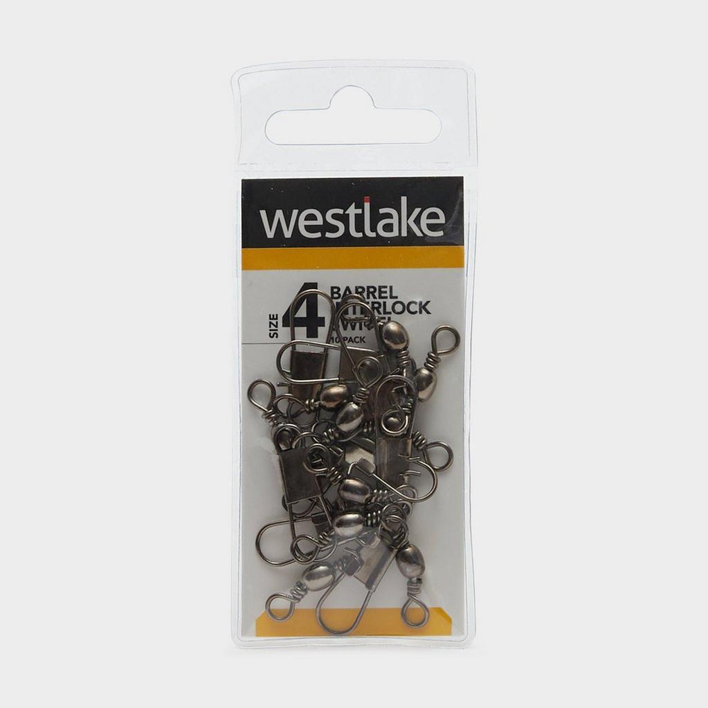 Silver Westlake Barrel Interlock Size 4 (10 Pack) image 1