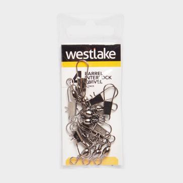Silver Westlake Barrel Interlock Size 4 (10 Pack)