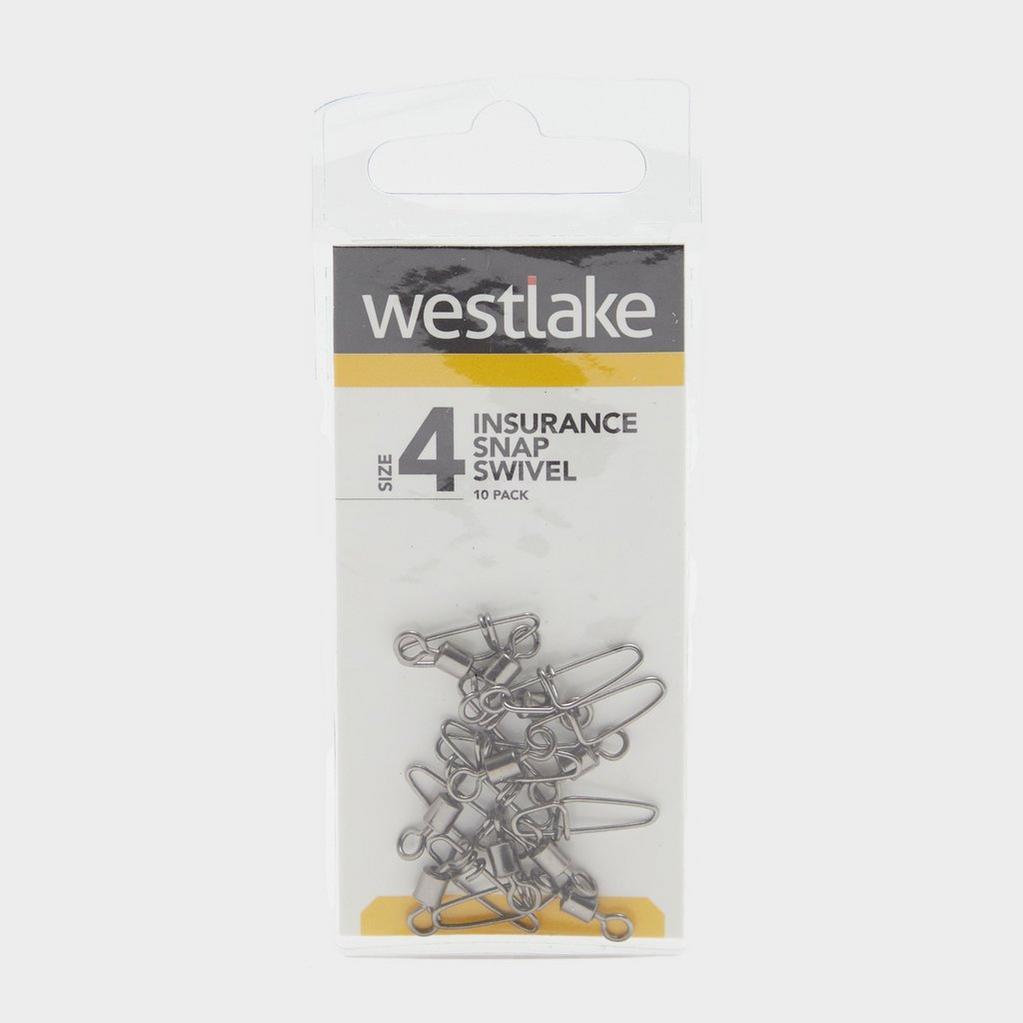 Silver Westlake Insurance Snap Swivel Size 4 (10 Pack) image 1