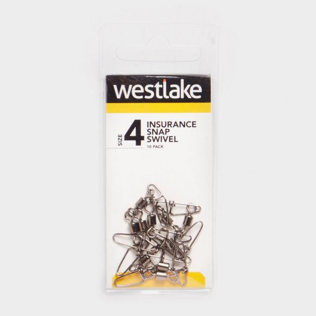 Silver Westlake Ins Snap Swivel Size 4 30Kg image 1