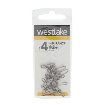 Silver Westlake Insurance Snap Swivel Size 4 (10 Pack)