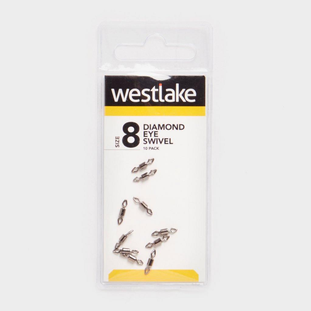 Silver Westlake Diamond Eye Swivel Sz 8 14Kg image 1
