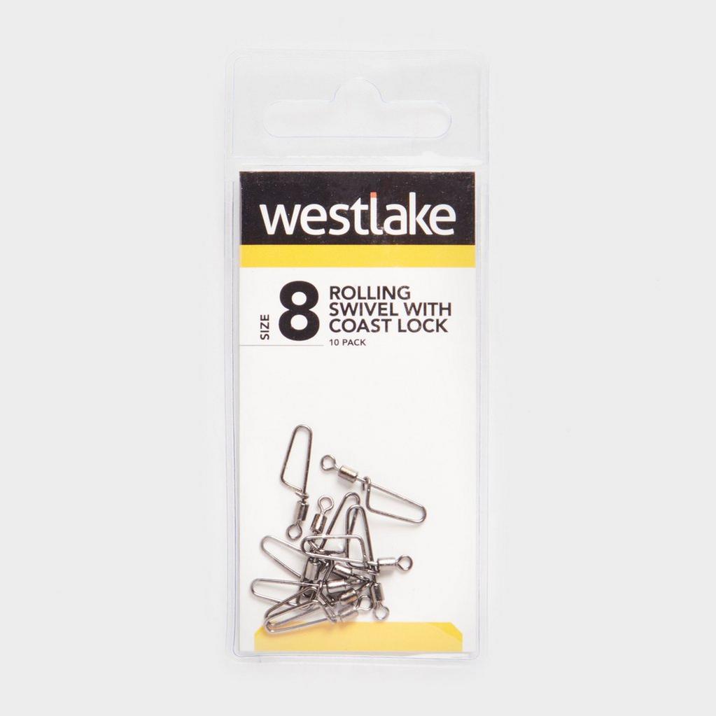 Black Westlake Rolling Swivel with Coast Lock (Size 8) image 1