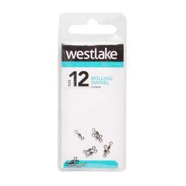 Silver Westlake Rolling Swivel Size 12 9kg