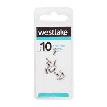Silver Westlake Rolling Swivel Size 10 14kg
