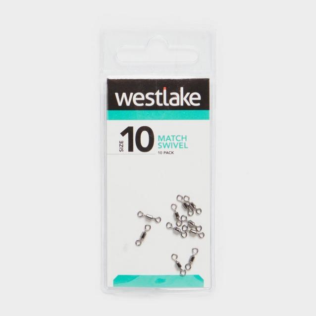 Silver Westlake Match Swivel Size 10 10Pc image 1