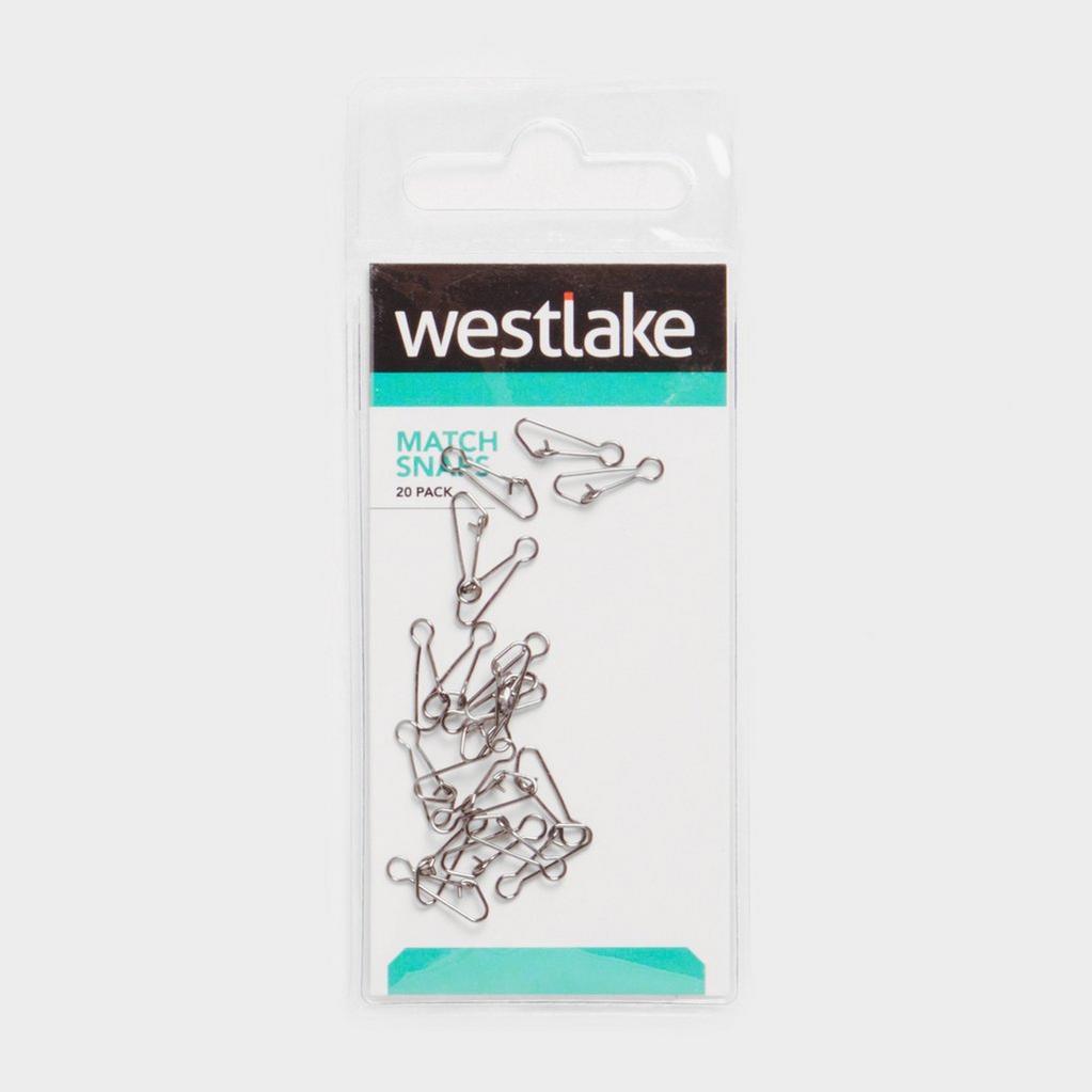 Silver Westlake Match Snap Medium 10 Pieces image 1