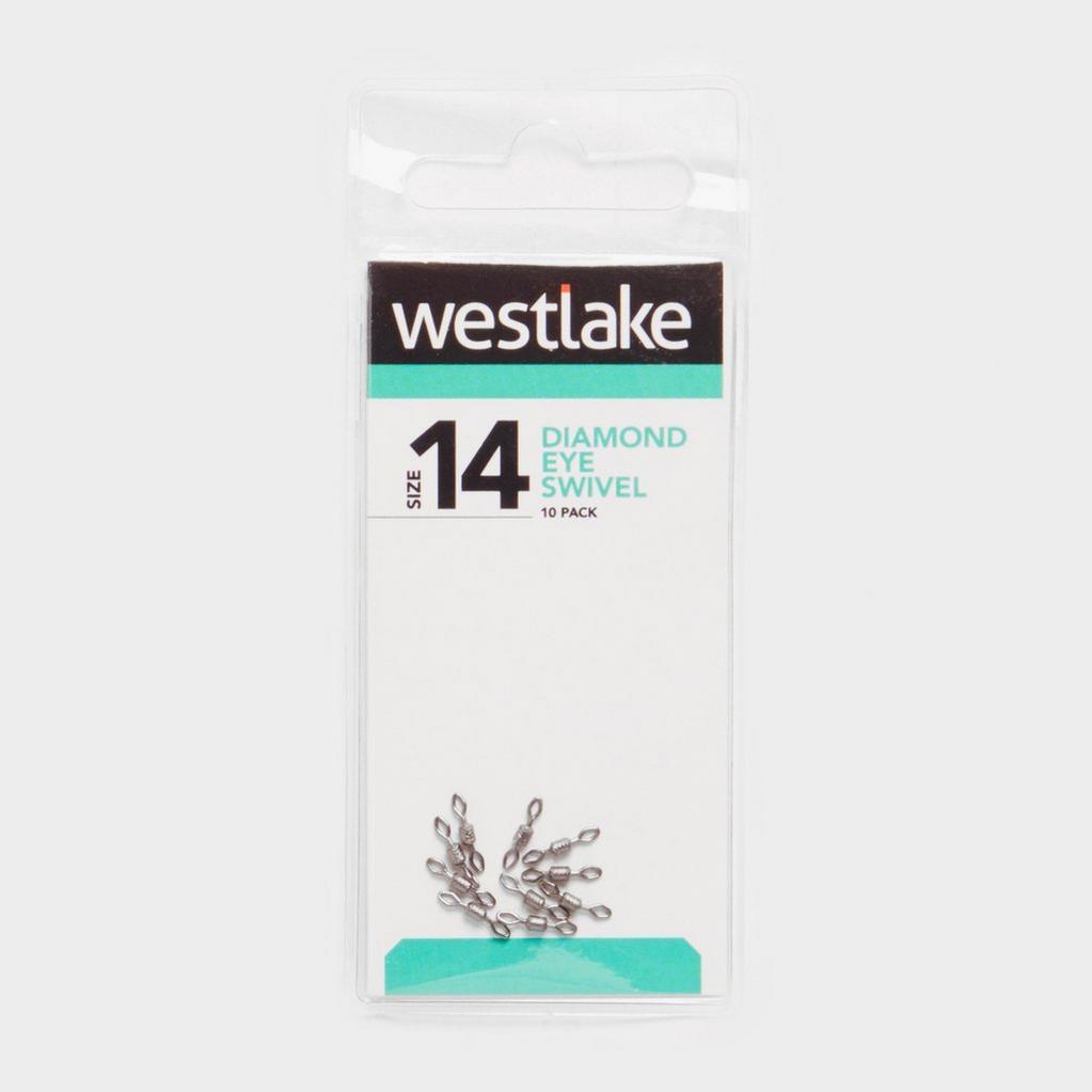 Silver Westlake Diamond Eye Swivel (Size 14) image 1