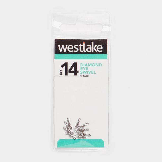 Silver Westlake Diamond Eye Swivel Sz14 10Pc image 1