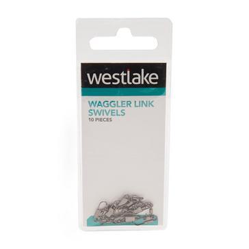 Silver Westlake Waggler Link Swivels (Size 12)