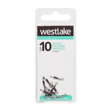 Silver Westlake Quick Change Swivels (Size 10)