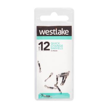Silver Westlake Quick Change Swivels (Size 12)