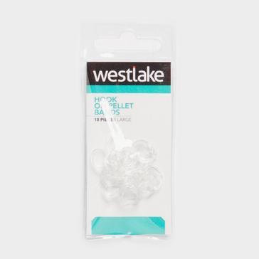 Clear Westlake Hook on Pellet Bands (Large)