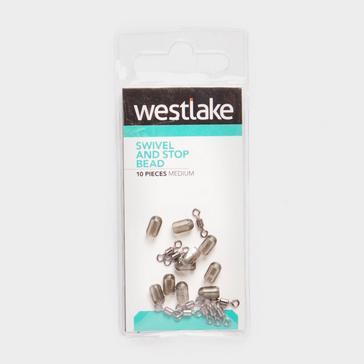 Silver Westlake Swivel and Stop Bead (Medium)