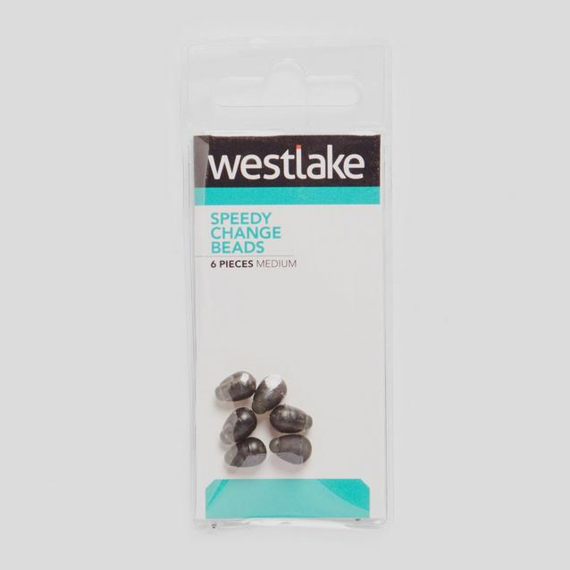 Silver Westlake Speedy Change Bead 6 Pc image 1