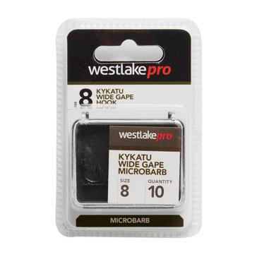 Black Westlake Kykatu Wide Gape Micro-Barbed Size 8