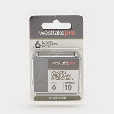 Black Westlake Kykatu Wide Gape Micro-Barbed Size 6