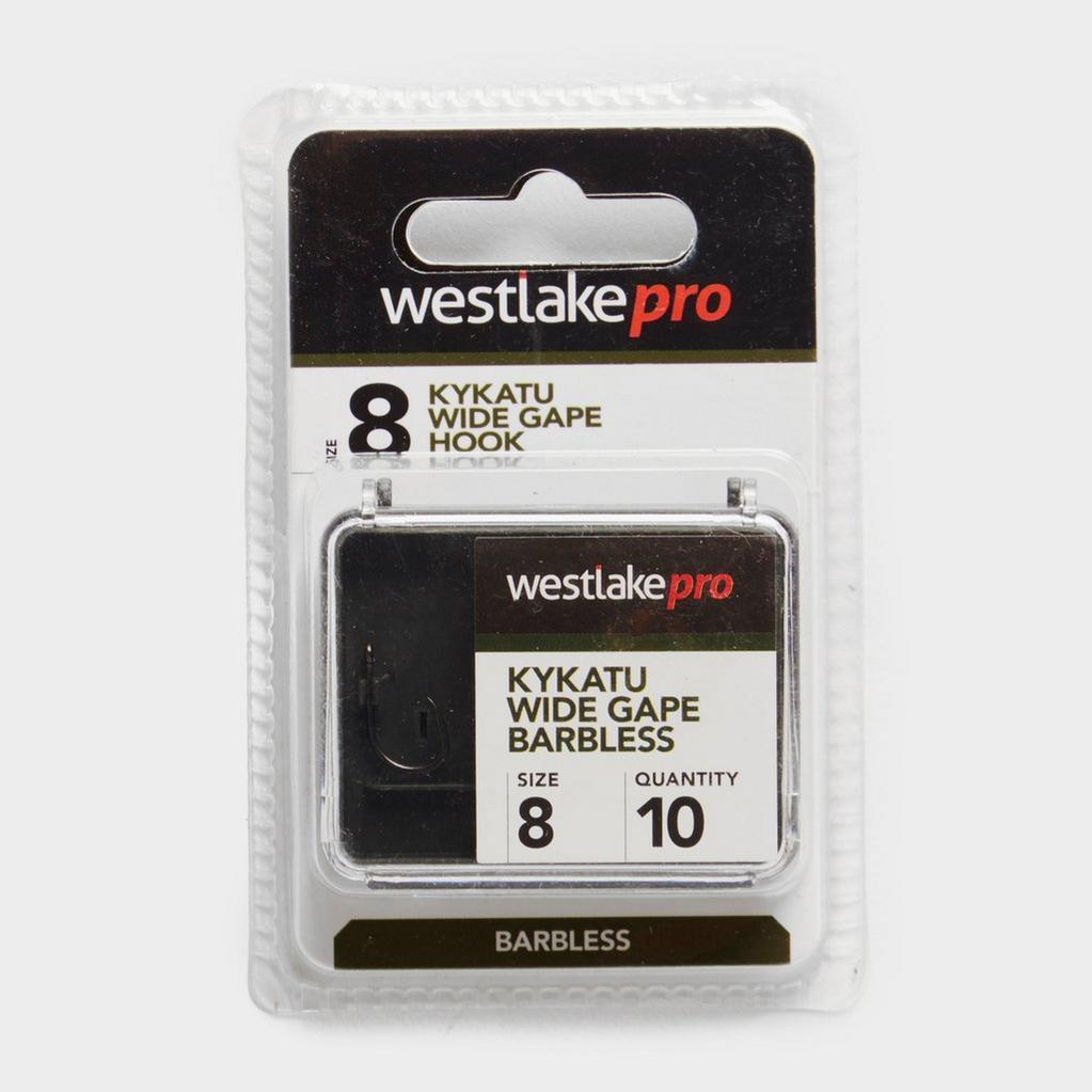 Multi Westlake Kykatu Wide Gape Barbless Hook Size 8 image 1