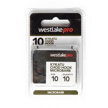 Black Westlake Kykatu Chod Micro Barb Hook Size 10