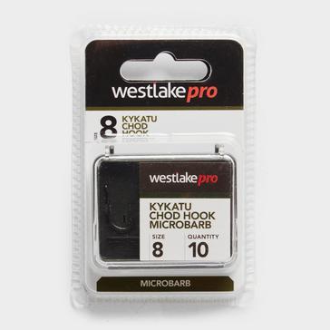 Black Westlake Kykatu Chod Micro Barb Hook Size 8