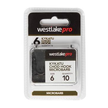 Black Westlake Kykatu Chod Micro Barb Hook Size 6