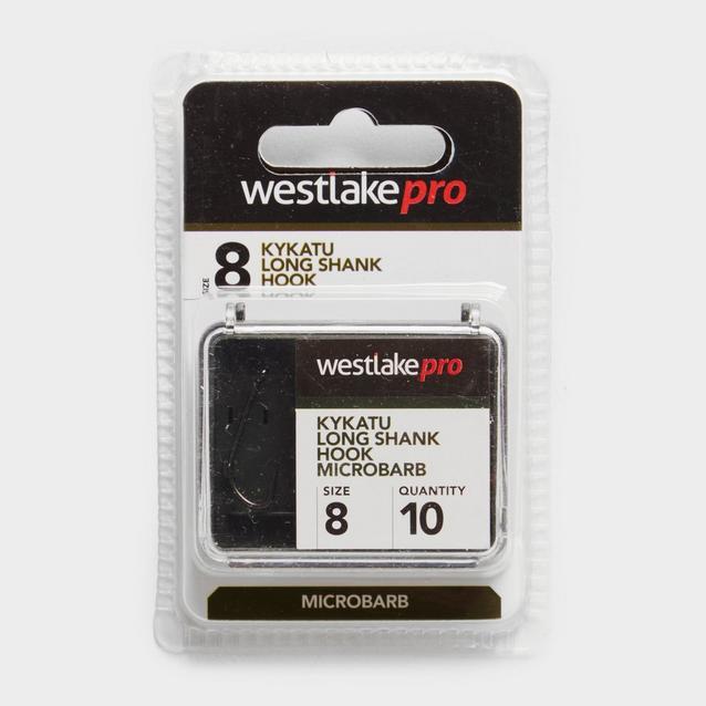 Black Westlake Long Shank 8 Micro Barb image 1