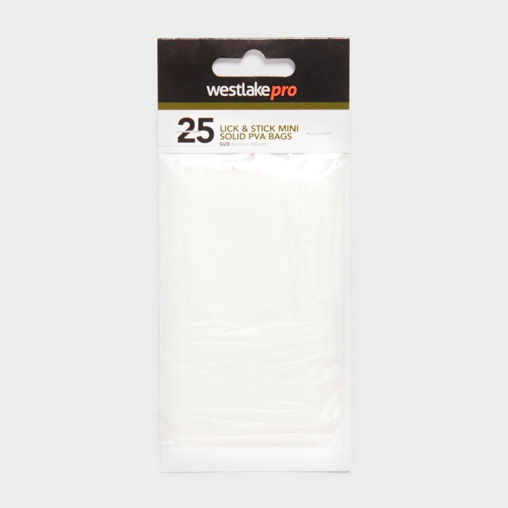 White Westlake Mini Perf Solid 100X60 25Pcs image 1