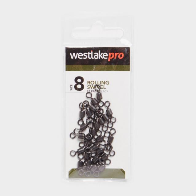 Black Westlake Rolling Swivel Size 8 20Pk image 1