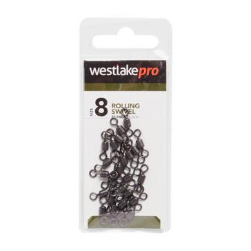 Black Westlake Rolling Swivel (Size 8)