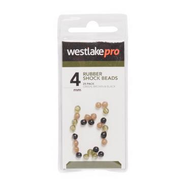 Multi Westlake Rubber Shock Beads (4mm)