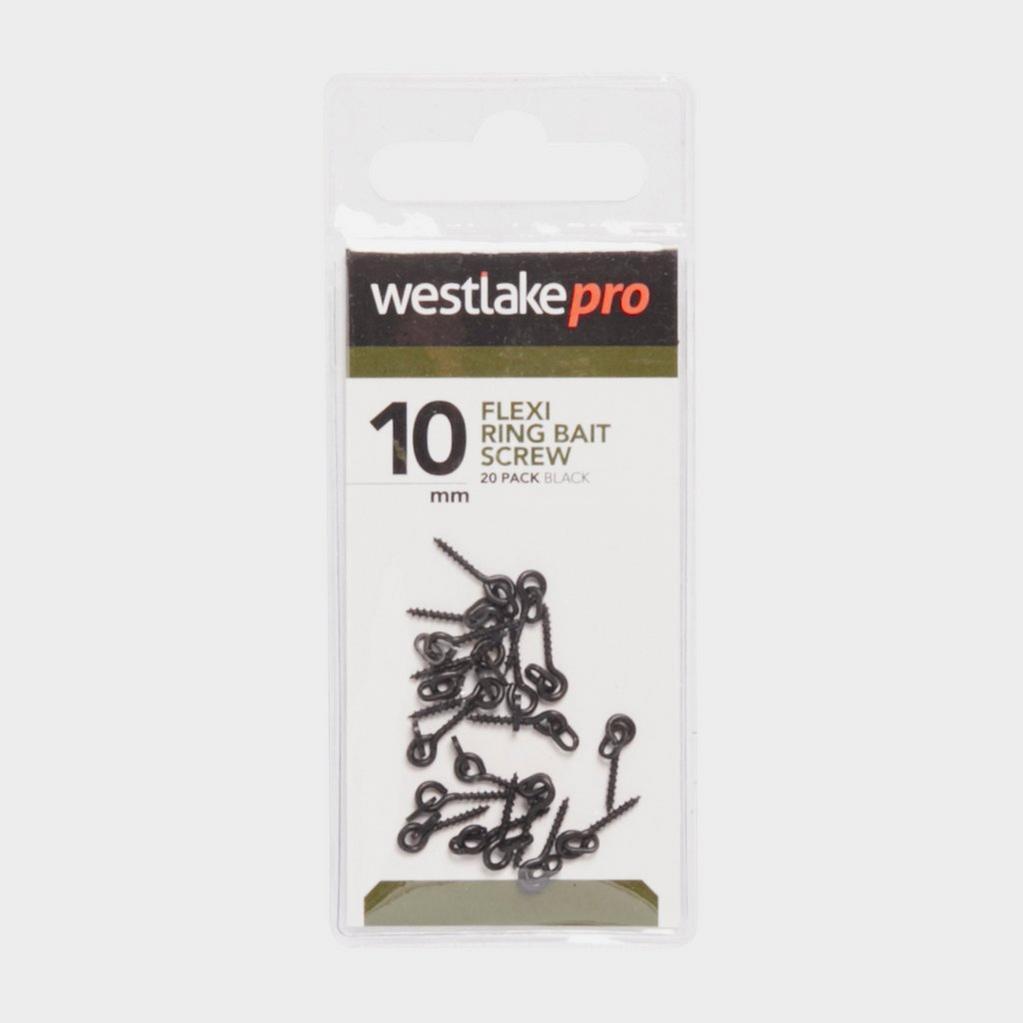 Black Westlake Flexi Ring Bait Screw 20Pk image 1