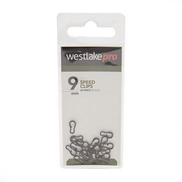 Black Westlake Link Clips Wide (9mm)